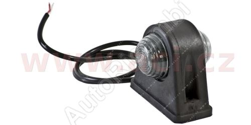 Parking light red-white with 50 cm cable 24V (2 LEDs) TRUCK L = P