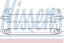 Chladič vzduchu Fiat Doblo 2000-09 1,3MTJ/1,9JTD
