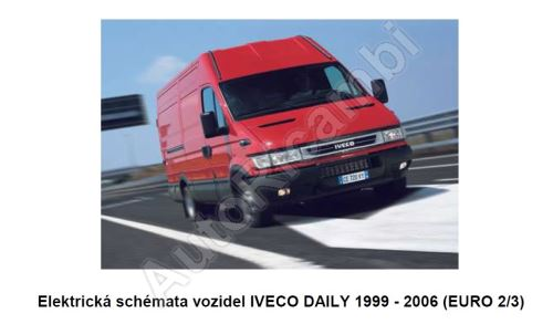 Wiring diagrams Iveco Daily 1999 - 2006 E2 / 3 (PDF)