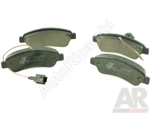 Brake pads Fiat Ducato 250/2014> rear