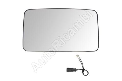 Sklo spätného  zrkadla Iveco EuroCargo do 2006 - 340x200 mm