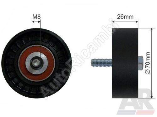 Drive belt pulley Iveco Daily 2,8 for A/C