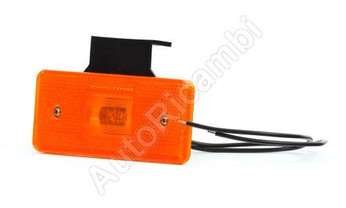 Svetlo pozičné oranžové LED uni 105x45 mm