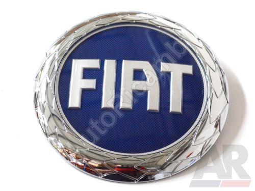 Front emblem logo Fiat Ducato 244/250 blue 120 mm