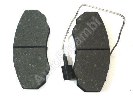 Brake pads Fiat Ducato 02-06 244 Q11, 15 front