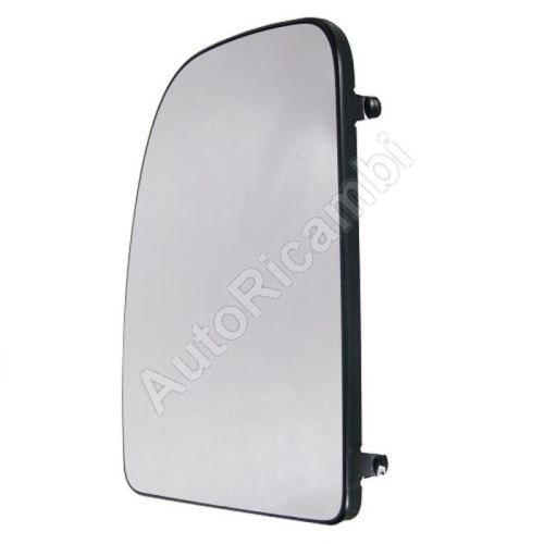Mirror glass Fiat Ducato 250, 2014> left, top - heated