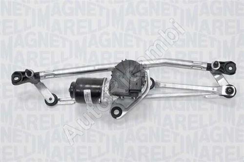 Wiper mechanism Fiat Fiorino 2007-2016- with motor