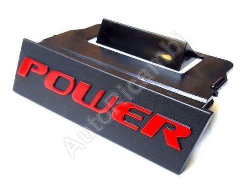 """Fiat Ducato 250 front grille """"POWER"""" emblem"""