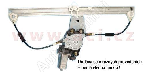 Mechanizmus okna Fiat Doblo 2000-09 ľavý el. (4dv.)