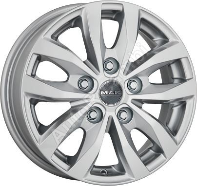 Disk kolesa Fiat Ducato 6,5x15  LOAD5 Silver 5x118mm