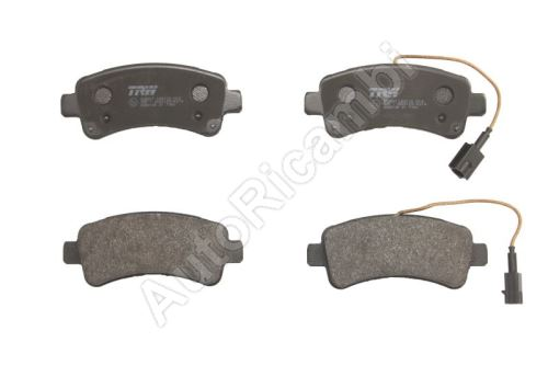 Brake pads Fiat Ducato 14> rear, with 20Q Brembo wear sensors