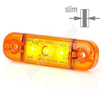 Pozičné svetlo oranžové, 3 LED