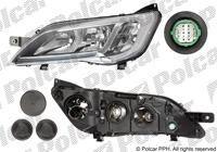 Headlight Fiat Ducato 2014 right H7 + H7 chrome frame