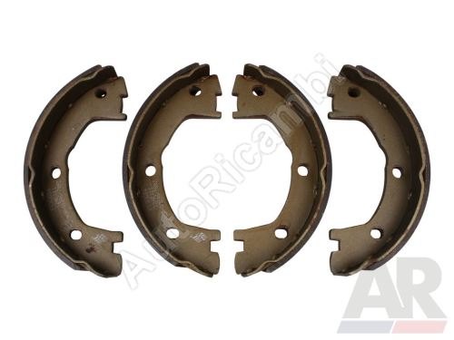 Handbrake shoes Iveco Daily 35C, 50C up to Axle No.
