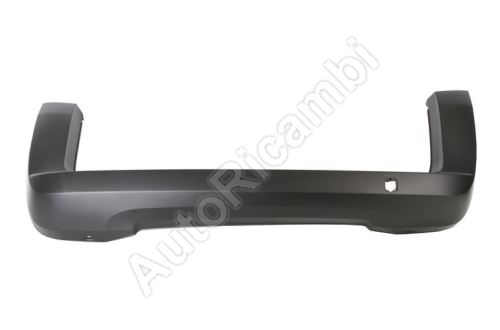 Bumper Fiat Fiorino 2007> rear, for paint (1-leaf door)