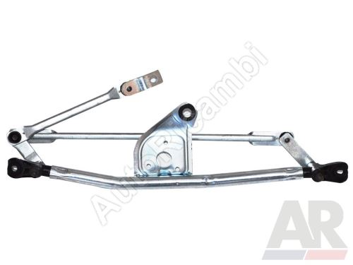 Wiper mechanism Fiat Fiorino 2007, without motor