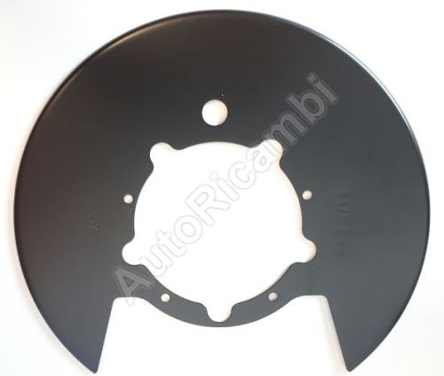 Brake disc cover Iveco Daily 2009>35S rear