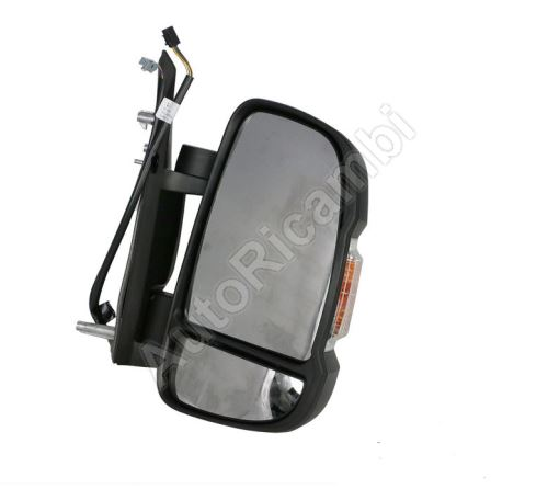 Rear View Mirror Fiat Ducato 250 - right electric foldable short 16W