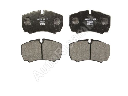 Brake pads Iveco Daily 35S rear
