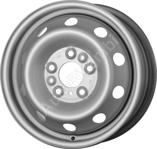 Disc wheel Iveco Daily 2000 35S, Fiat Ducato 230/244/250 6Jx15