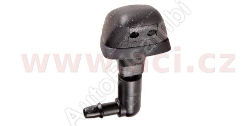 Rear windscreen washer nozzle Fiat Fiorino 2007>