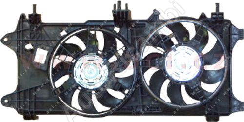 Sahara chladiča Fiat Doblo 2000-09 1,3MJTD/ 1,9JTD - s klimatizáciou