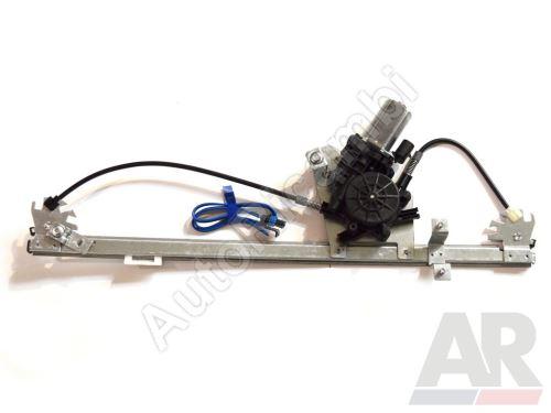 Mechanizmus sťahovania okna Fiat Ducato 250, 2014> pravý el. (2-pin) s motorčekom