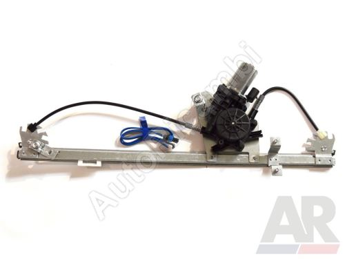 Window mechanism Fiat Ducato 250, 2014> electric right, (2-pin) with motor