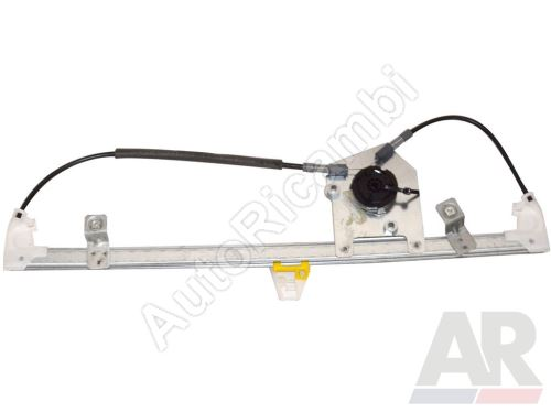 Window mechanism Fiat Doblo 2010> front, left, without motor
