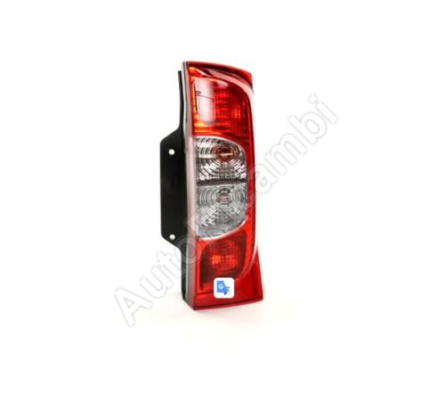 Rear lamp Fiat Fiorino 2007> right, with strip (1-leaf door)