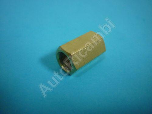 Spojka brzdovej trubky M10x1 / M10x1 mm Iveco Daily, Fiat