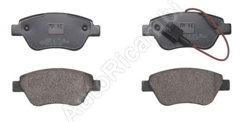 Brake pads Fiat Doblo, Fiorino - front