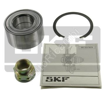 Wheel bearing Fiat Doblo, front, without ABS
