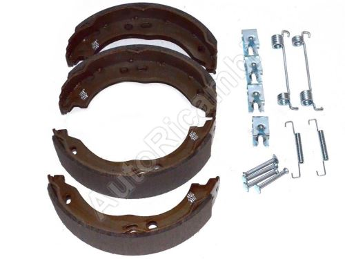 Handbrake shoes Fiat Ducato 250 + strings