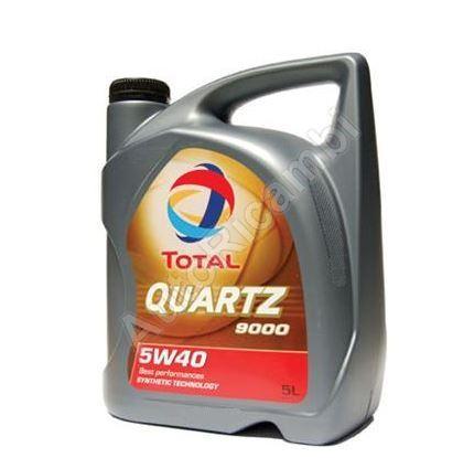 Olej motorový Total Quartz 9000 5W40 5L * cena za balenie*