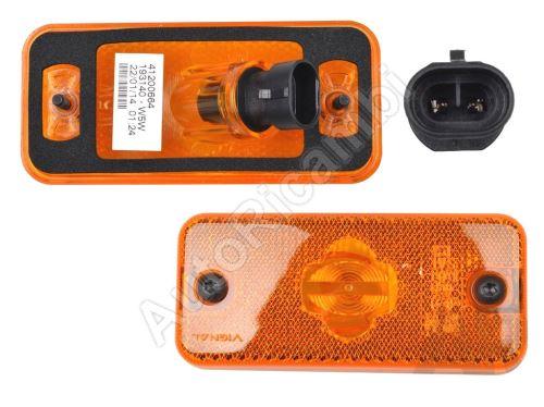 Pozičné svetlo Iveco Daily, Stralis, Fiat Ducato oranžové