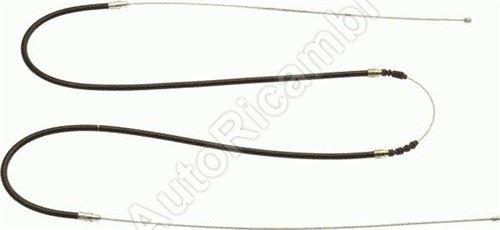 Hand brake cable Fiat Ducato 230 rear