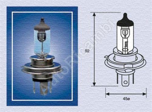 The bulb 24V H4 75/70W