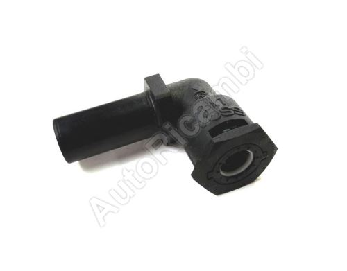 Air coupling Iveco EuroCargo L-shaped