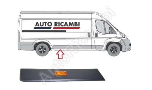 Exterior moulding side Fiat Ducato 250, right