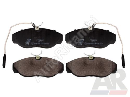 Brake pads Fiat Ducato 230 front, with 10/14Q sensor