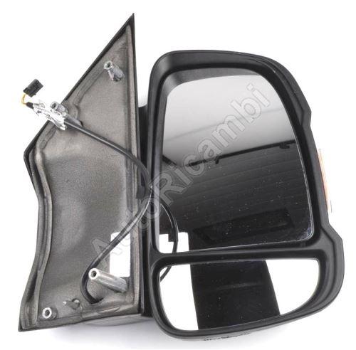 Rear View Mirror Fiat Ducato 250, 2014– right, short, manual 16W (80mm)