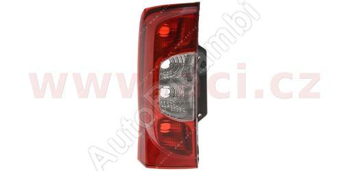 Zadné svetlo Fiat Fiorino 07> ľavé, bez objímky (1 dvere)