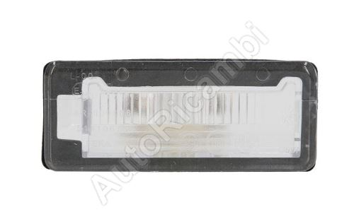 Number plate light Fiat Doblo 2010> separate light
