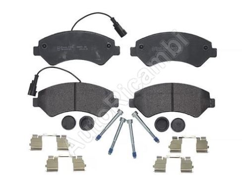 Brake pads Fiat Ducato 250/2014> front Q17H - two sensors