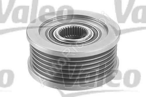 Alternator pulley Fiat Doblo, Alfa 1.9 61,5x41,2 mm 6PK