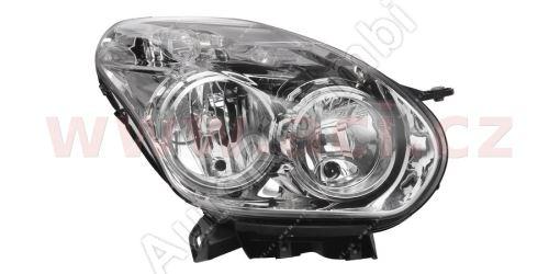 Svetlomet Fiat Doblo 2010 pravý, s motorčekom, H7+H1