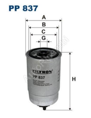 Palivový filter Fiat Ducato 230 2,5D