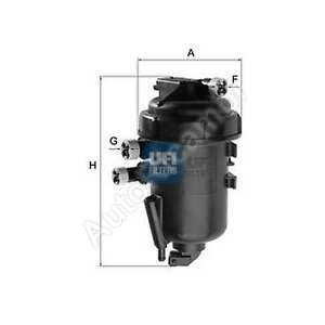 Fuel filter Fiat Ducato 244 2,3JTD - complete