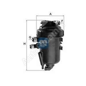 Palivový filter Fiat Ducato 244 2,3JTD- komplet s obalom